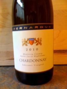 Bernardus Chardonnay Soberanes 2010