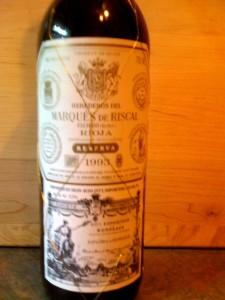 Marquis de Riscal Rioja Reserva 1993