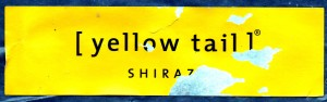 Yellow Tail Shiraz Label