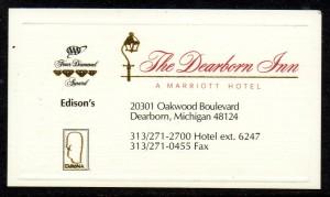 MI The Dearborn Inn BC2