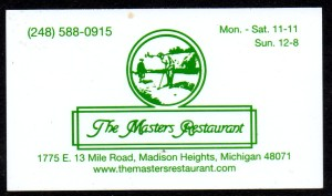 MI The Masters Restaurant BC