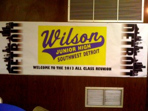 MI Wilson Jr High School Banner