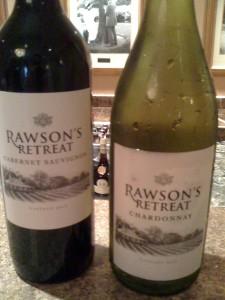 Rawsons Retreat Cab and Chardonnay