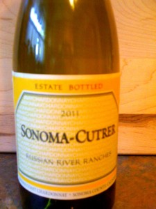 Sonoma-Cutrer Chardonnay Russian River Ranches 2011