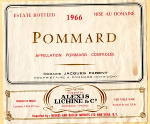 Pommard AlexisLichine 1966