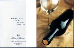 Taste of Monterey Note Card
