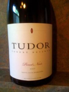 Tudor Tondre Reserve Pinot Noir 2007