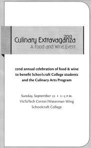 Culinary Extravaganza 2013 Brochure