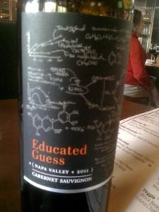 Educated Guess Cabernet Sauvignon 2011