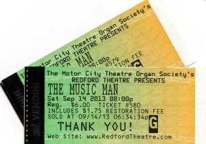 MI Music Man Tickets