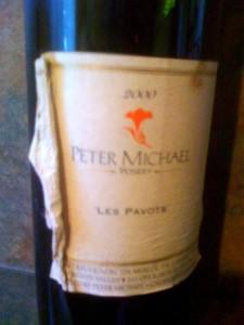 Peter Michael Les Pavots 2000