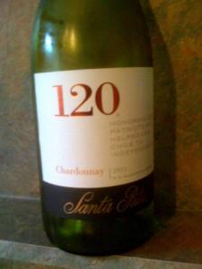 Santa Rita 120 Chardonnay 2012