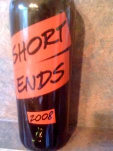 Short Ends Cabernet Sauvignon 2008