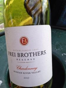 Frei Brothers Chardonnay 2010