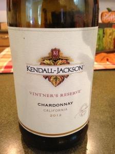 KJ VR Chardonnay 2012