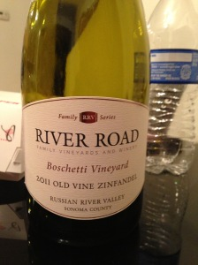 River Road Boschetti Vineyard Old Vine Zinfandel 2011
