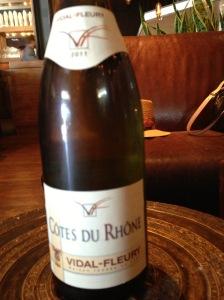 Vidal-Fleury Cotes Du Rhone 2011