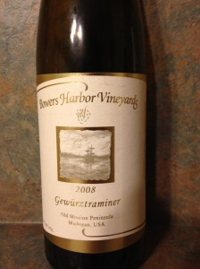 Bowers Harbor Gewurztraminer 2008