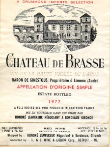 Ch de Brasse 1972