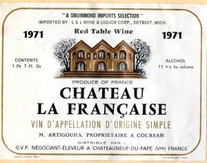 Ch la Francaise 1971