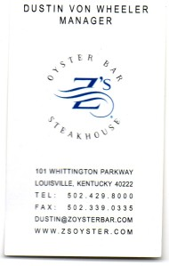 KY Zs Oyster Bar & Steakhouse BC