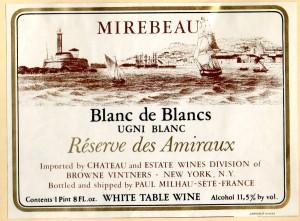 Mirebeau Blannc de Blancs Reserve des Amiraux