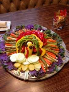 Thanksgiving Appetizer Plate 2013