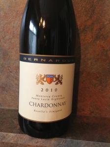 Bernardus Rosellas Chardonnay 2010