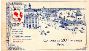 France Red Cross Booklet Mos 25xx