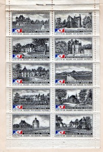 France Red Cross Pane Mos 25