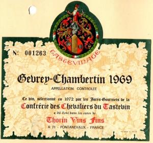 Gevrey-Chambertin CCT 1969