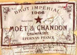 Moet & Chandon Brut Imperial 1966
