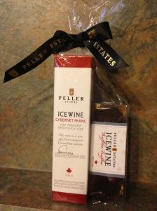 Peller Icewine Cabernet Franc and Icewine Truffles