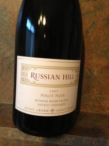 Russian Hill Pinot Noir 2007