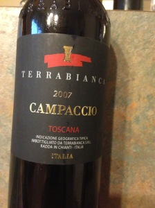 Terrabianca Campaccio Toscana 2007