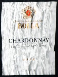 Bolla Chardonnay Puglia 1993