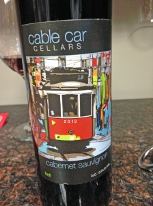 Cable Car Cellars Cabernet Sauvignon 2012