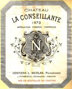 Ch La Conseillante 1970