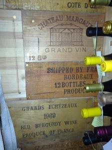 Far Wall in Wine Cellar