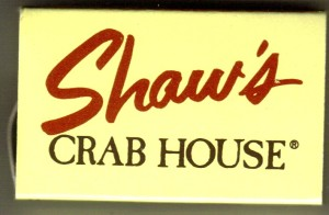IL Shaws Crab House