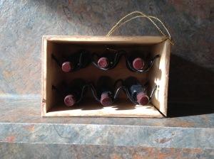 Wine Crate Ornament