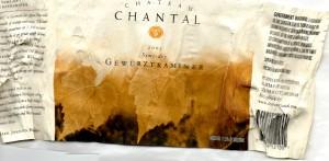 Chateau Chantal Gewurztramine 2003