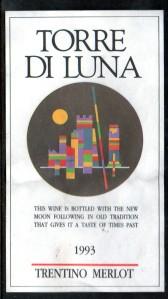 Torre Di Luna Merlot 1993