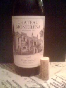 Chateau Montelena Chardonnay Napa 2007