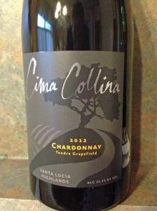 Cima Collina Tondre Chardonnay 2012