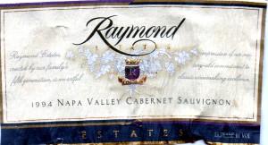 Raymond Estates Cabernet Sauvignon 1994