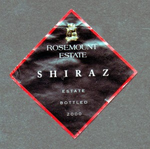 Rosemount Estate Shiraz 2000