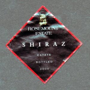 Rosemount Estate Shiraz 2000