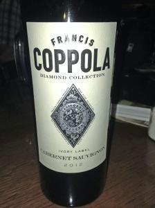Francis Coppola Cabernet Sauvignon 2012