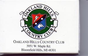 MI Oakland Hills CC MB